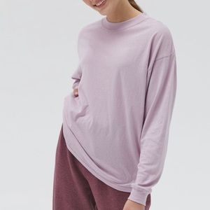 UO Carnaby Cotton Oversized Tee